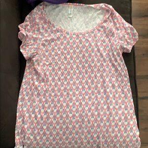 Lularoe Disney large shirt